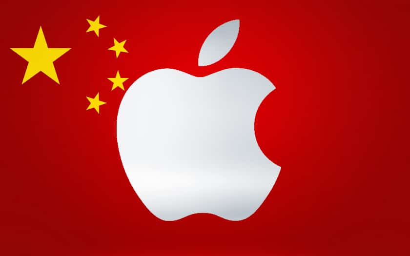 22 apple chine